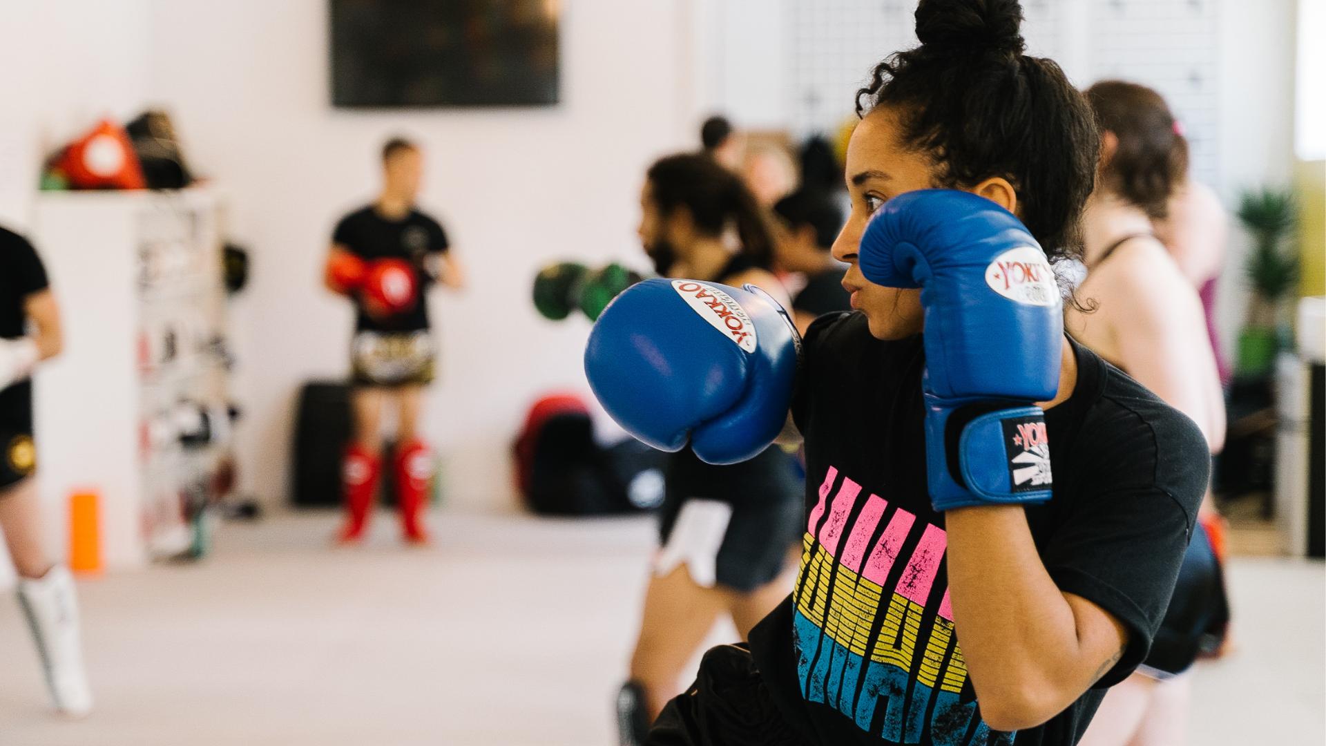 Muay Thai Toronto training at montrait Muay Thai Downtown Toronto location